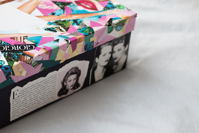 {DIY} Beautybox aus alten Zeitschriften Bild 5
