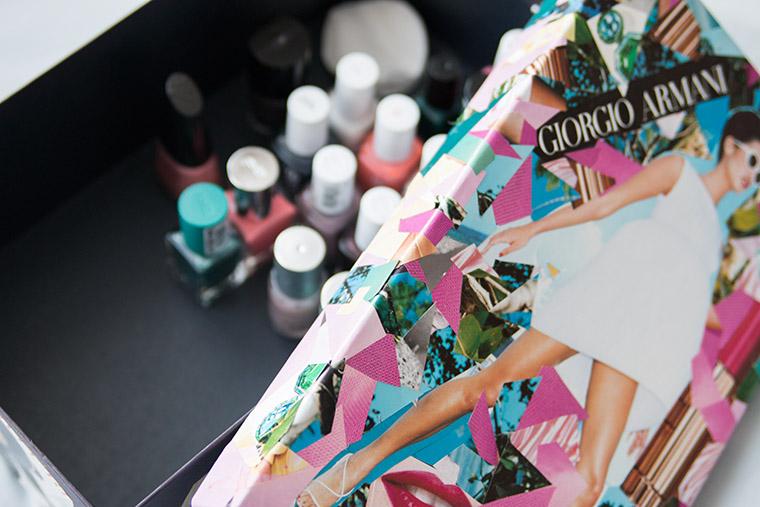 {DIY} Beautybox aus alten Zeitschriften Bild 6