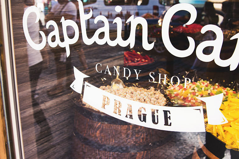 Captain Candy Prague