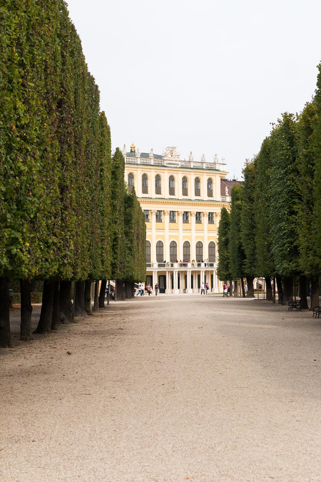 Ein Ausflug nach Schloss Schönbrunn