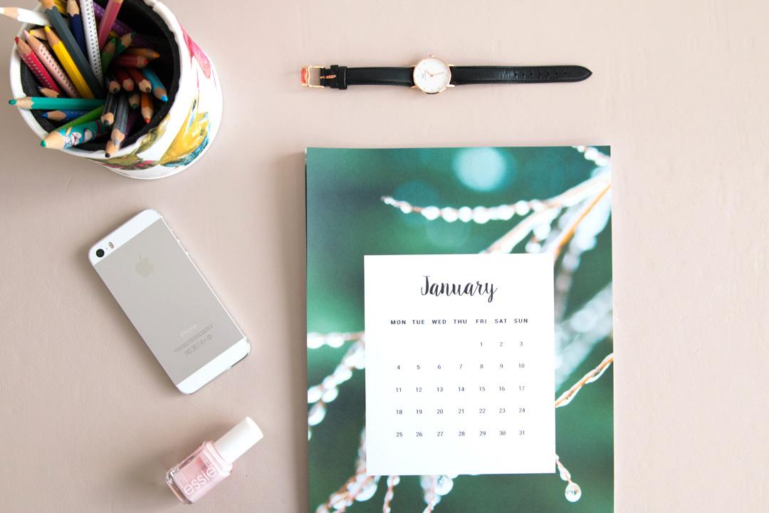 Calendar 2016 Free Printable