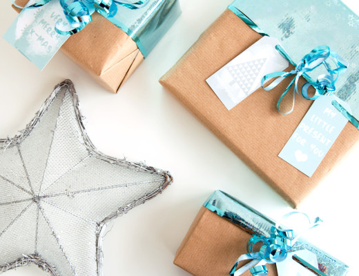 Wrap it up! Some Ideas & Free Gift Tag Printables