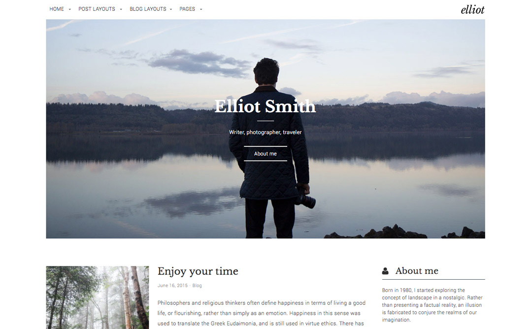 8 Clean & Modern WordPress Themes