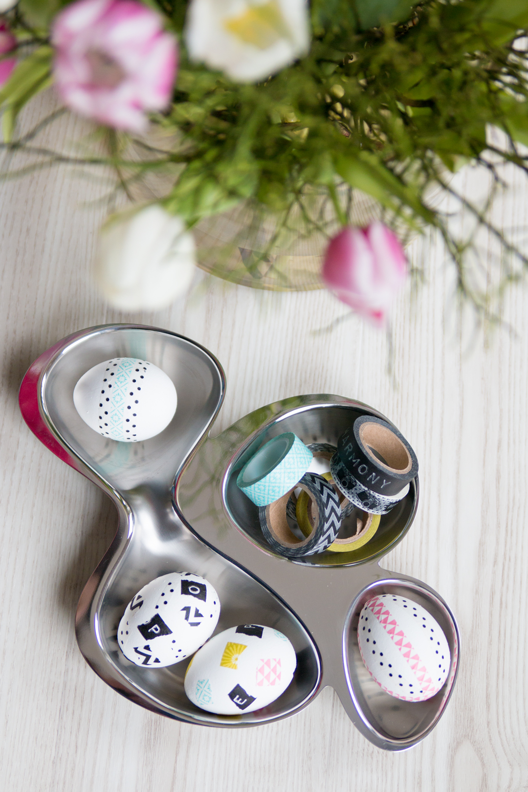Last Minute Osteridee // Washi Tape Ostereier