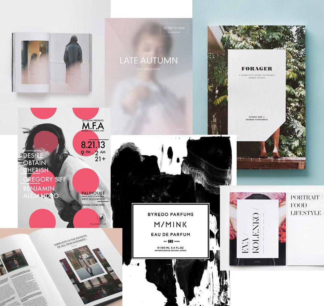 Editorial Design & Graphic Design Inspiration