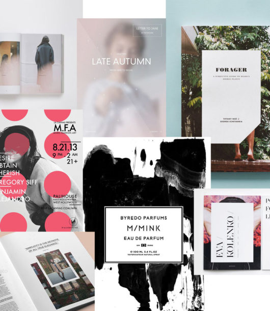 Editorial Design & Graphic Design Inspiration
