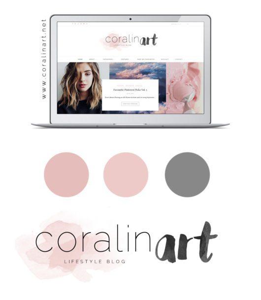 Coralinart 2.0 // Ein neuer & moderner Look