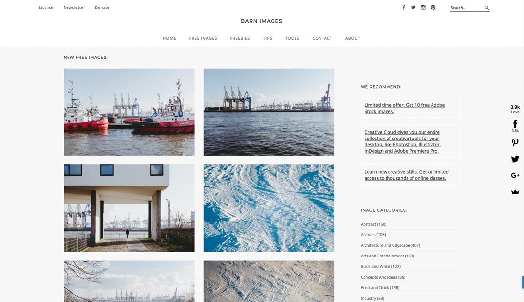 5 Quellen für kostenlose Stockfotos - Barn Images