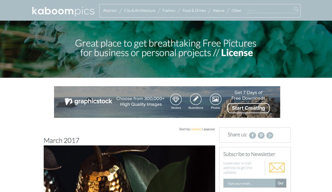 5 Quellen für kostenlose Stockfotos - Kaboompics