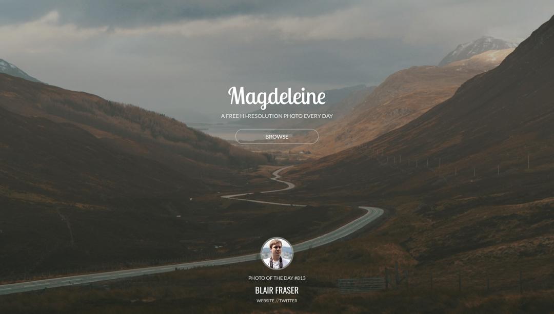 5 Quellen für kostenlose Stockfotos - Magdeleine