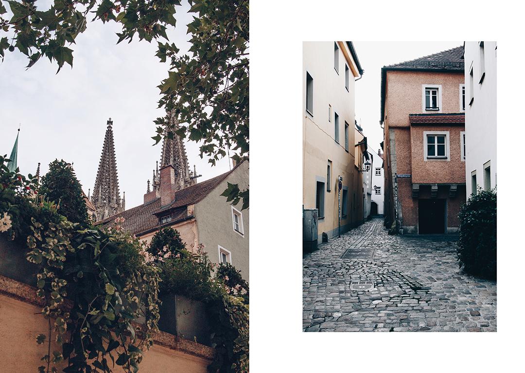 Regensburg im Sommer