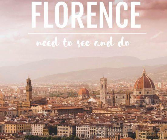 Was ich in Florenz erleben möchte