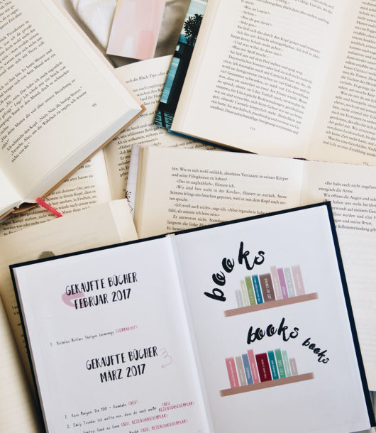 Ideen für ein kreatives Bookjournal