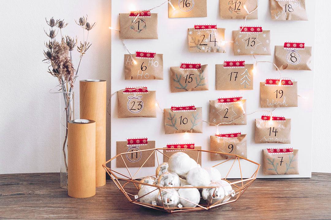 { DIY } Adventskalender selber basteln mit #pilotpen & 24 Ideen für die Füllung