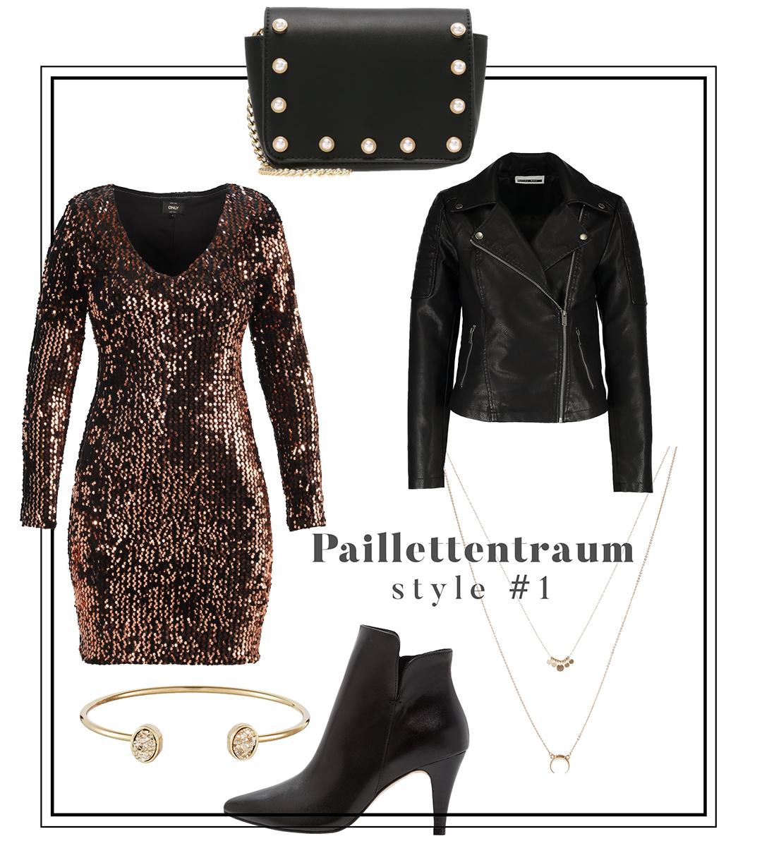 Kleider richtig stylen // 4 Ideen für den perfekten Silvesterlook