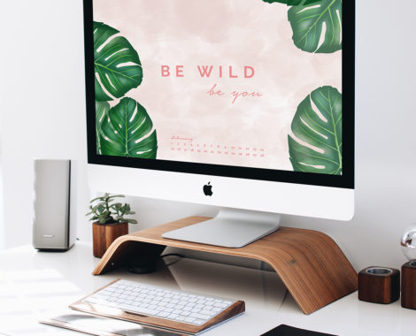Freebie: Monstera Wallpaper