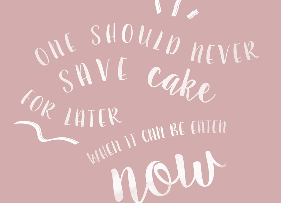 Handlettering, Typografie & Inspirational Quotes – Meine Tipps