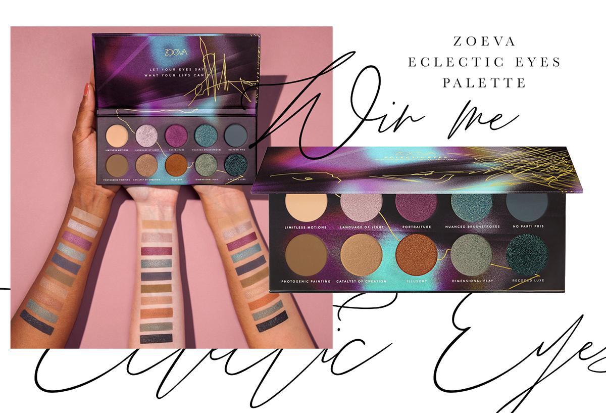 Verlosung: Zoeva Eclectic Eyes Palette { Bloggin' around the christmastree }