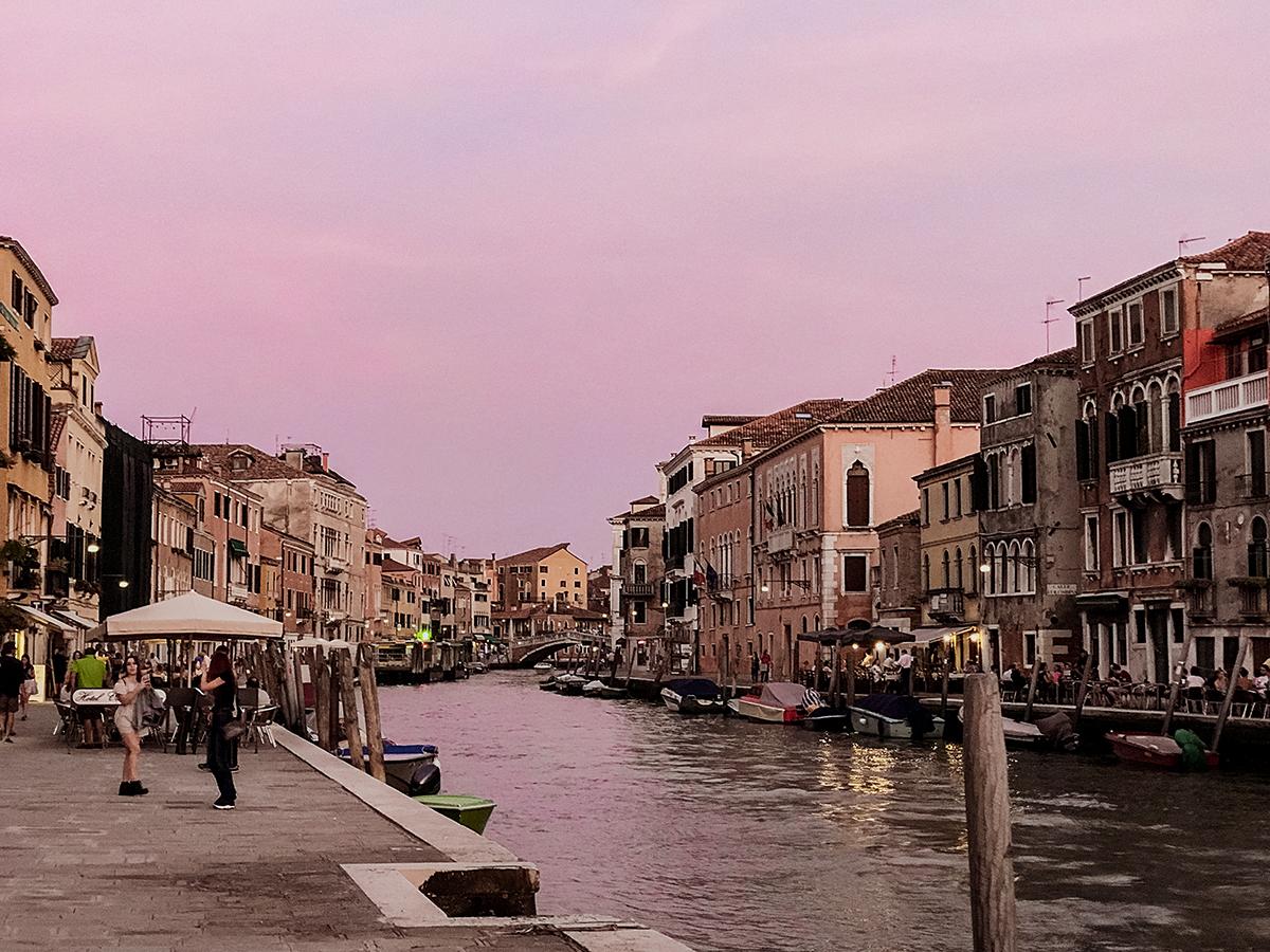 Venedig am Abend